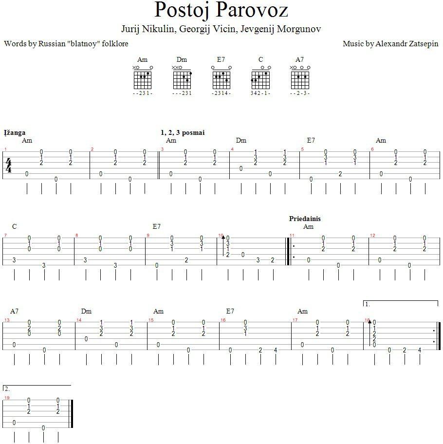 Postoj parovoz_GitarosPamokos.lt