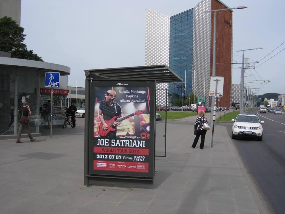 Satrianis Vilniuje