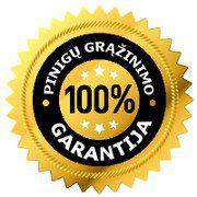 100 procentu garantija