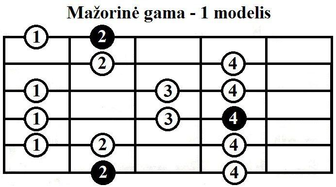 Mazorine-gama-1-modelis