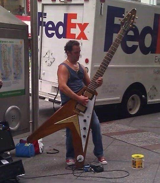 Milziniska gitara